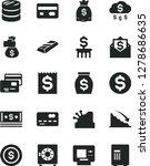solid black vector icon set  ... | Shutterstock .eps vector #1278686635