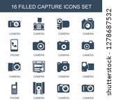 capture icons. trendy 16... | Shutterstock .eps vector #1278687532