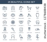 25 beautiful icons. trendy... | Shutterstock .eps vector #1278688438