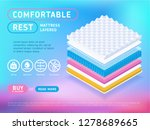 multicolored web page with... | Shutterstock .eps vector #1278689665