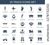 track icons. trendy 25 track... | Shutterstock .eps vector #1278732202