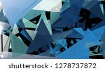 abstract geometric pattern... | Shutterstock .eps vector #1278737872