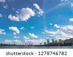 beautiful city of kiev in the... | Shutterstock . vector #1278746782