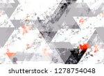 seamless urban geometric grunge ... | Shutterstock .eps vector #1278754048
