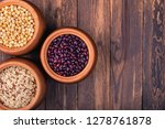 the concept of natural healthy... | Shutterstock . vector #1278761878