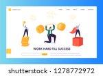 finance business success...   Shutterstock .eps vector #1278772972