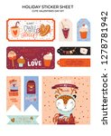 collection of valentines day... | Shutterstock .eps vector #1278781942