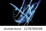 fantasy chaotic colorful... | Shutterstock . vector #1278785038