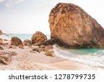 beautiful coastline view from...   Shutterstock . vector #1278799735