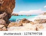 beautiful coastline view from...   Shutterstock . vector #1278799738