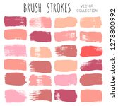 makeup swatches  beauty and...   Shutterstock .eps vector #1278800992