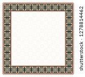 square floral framework.... | Shutterstock .eps vector #1278814462