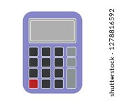 vector calculator icon math... | Shutterstock .eps vector #1278816592