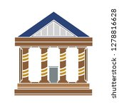 bank building icon  government... | Shutterstock .eps vector #1278816628
