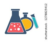 science laboratory icon test... | Shutterstock .eps vector #1278825412