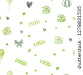light green  yellow vector... | Shutterstock .eps vector #1278831535
