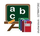 teaching board icon  teaching... | Shutterstock .eps vector #1278847282