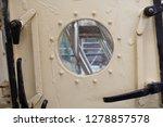 old classic tall ship part deck ...   Shutterstock . vector #1278857578