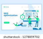 landing page template seo...