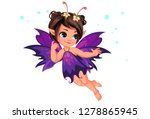 Beautiful Little Purple Flower...