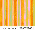 watercolor strips seamless...   Shutterstock .eps vector #1278870748
