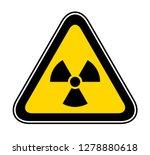 triangular yellow warning... | Shutterstock .eps vector #1278880618