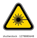 triangular yellow warning... | Shutterstock .eps vector #1278880648