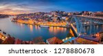 porto  portugal. panoramic... | Shutterstock . vector #1278880678