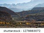 beautiful landscape of nepal.... | Shutterstock . vector #1278883072