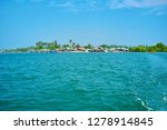 the colored huts of chaung tha... | Shutterstock . vector #1278914845