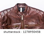 leather jacket with nice... | Shutterstock . vector #1278950458