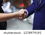 group of young office managers... | Shutterstock . vector #1278979192