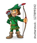 Robin Hood Stood Smiling And...