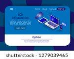 isometric modern cloud... | Shutterstock .eps vector #1279039465