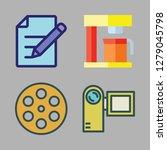 maker icon set. vector set... | Shutterstock .eps vector #1279045798