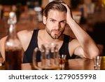 enjoy the drinks  but not too... | Shutterstock . vector #1279055998