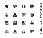 tissue icon set. collection of... | Shutterstock .eps vector #1279083898
