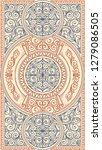 ornate art deco vintage design...   Shutterstock .eps vector #1279086505