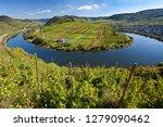 the historic village of bremm...   Shutterstock . vector #1279090462