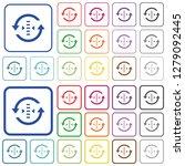 adjust refresh rate color flat... | Shutterstock .eps vector #1279092445