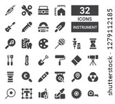 instrument icon set. collection ...   Shutterstock .eps vector #1279112185