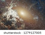 nebulae an interstellar cloud... | Shutterstock . vector #1279127005