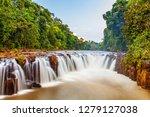 Beautiful Waterfall At Tad Pha...