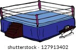 1,arena,blank,boxing,boxing ring,cartoon,clip art,combative,cut out,empty,fighting,hand drawn,illustration,isolated,judges