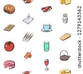 various images set. background...   Shutterstock .eps vector #1279143562