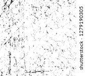 rough grunge pattern design.... | Shutterstock .eps vector #1279190305