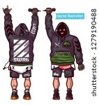 swag vector set   rapper with... | Shutterstock .eps vector #1279190488