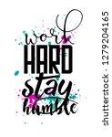 poster art design | Shutterstock . vector #1279204165