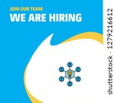 join our team. busienss company ... | Shutterstock .eps vector #1279216612