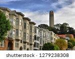 coit tower hill | Shutterstock . vector #1279238308